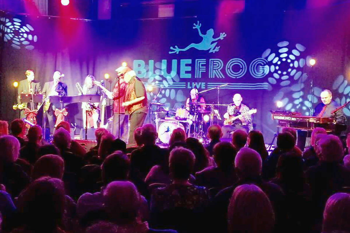 Live concerts could return to venues such as Blue Frog Studios in White Rock by year's end - provided immunizations make a diference and COVID variants are held in check - according to a recent round table including provincial health officer Dr Bonnie Henry and reprsentatives of performing arts groups. (Submitted photo)